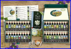 BACH FLOWER ESSENCE SET 40 Genuine Traditional Stock Remedies Boxed Quality Kit