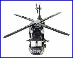 Custom Army Transport Helicopter Military UH-60 minigun made with real LEGO