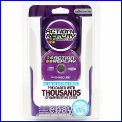 Datel Action Replay Cheats Codes System For Gamecube & Nintendo Wii Eu Only