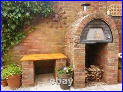 Maximus Arena Red Wood Fired Pizza Oven REAL WOOD REAL FLAVOUR