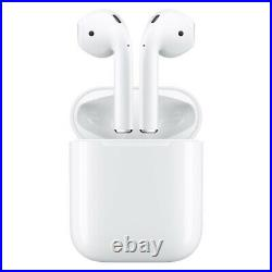 New Apple AirPods 2nd generation with Charging Case Bluetooth Genuine White