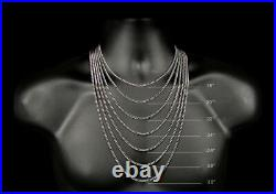 Real 10k Yellow Gold CubanChain 7 MM 22 Lobster Box Clasp Necklace